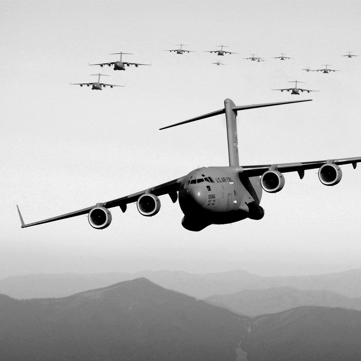 US military airborne cargo fleet